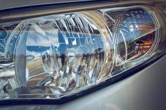 Led headlight of car Royalty Free Stock Photos