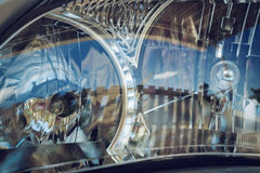 Led headlight of car Royalty Free Stock Photography