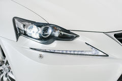 LED headlights Royalty Free Stock Photos