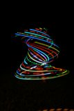 LED Hula Hoop Tornado Stock Photos