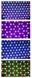 Led illuminated collage royalty free stock images