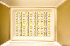 LED Incandescent arrange several rows. LED Incandescent arrange several rows Stock Images