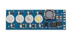 LED indicator panel Royalty Free Stock Photos