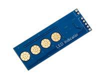 LED indicator panel Stock Photography