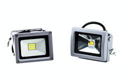LED industrial searchlights Stock Images