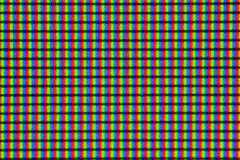 LED IPS monitor screen showing pixels in extreme closeup macro magnification royalty free stock photos
