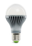LED lamp. Isolated close up Royalty Free Stock Photography