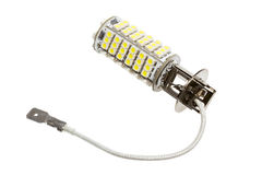 Led lamp for auto. On the white background Royalty Free Stock Images
