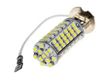 Led lamp for auto Stock Photo