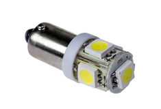 Led lamp for auto Royalty Free Stock Images