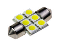 Led lamp for auto Stock Photo