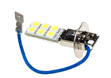 Led lamp for auto Stock Image