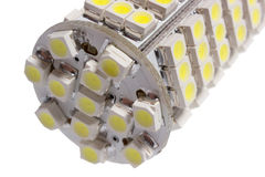Led lamp for auto Stock Photos