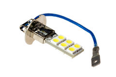 Led lamp for auto Stock Images