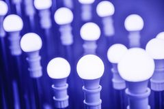 Led  Lamp bulbs Royalty Free Stock Photography