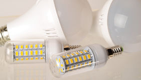 LED Lamp bulbs Royalty Free Stock Image