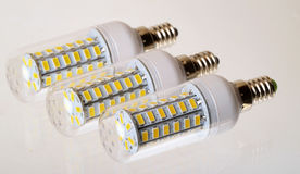 LED Lamp bulbs Royalty Free Stock Photography