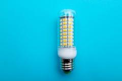 LED lamp E27 SMD Corn Bulb light Spotlight. LED lamp E27 SMD 5730 Corn Bulb 220V Chandelier LEDs Candle light Spotlight royalty free stock photos