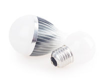 Led lamp light bulb Stock Photos