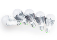 Led lamp light bulb Stock Images
