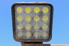 LED lamp mounted on vehicle Stock Image