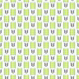 LED lamp pattern Royalty Free Stock Photos