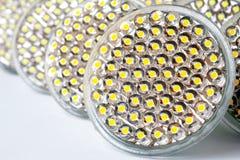 LED lamp. Photo Close-up Royalty Free Stock Photography