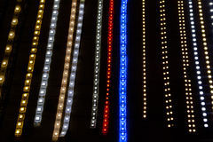 Led lamp strip Stock Images