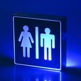 LED lamp WC Stock Photos