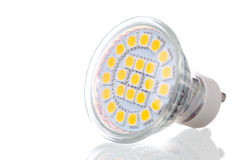 LED lamp on white Stock Photo