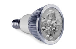 LED lamp Stock Image