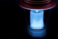 LED-Lampe für touristisches Zelt Stockfoto