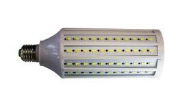 LED-Lampe lokalisiert auf einem weißen Hintergrund mit Beschneidungspfad Lizenzfreie Stockfotos