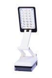 LED-Lampe lokalisiert auf weißem Hintergrund Stockfotografie