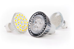 Led lamps Royalty Free Stock Images