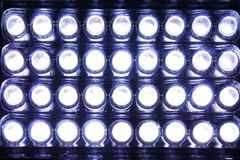 LED lamps Stock Image