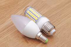 LED lamps Stock Photography