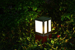 Led lawn lamp Royalty Free Stock Photography