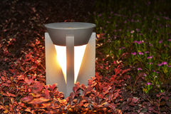 Led lawn lamp Royalty Free Stock Images
