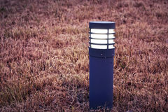 Led lawn lamp Royalty Free Stock Image