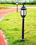 Led lawn light Royalty Free Stock Image