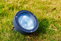 Led garden lamp Royalty Free Stock Images