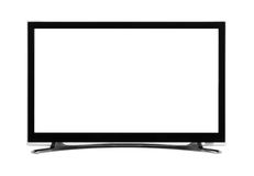 Led or lcd internet tv monitor Royalty Free Stock Image