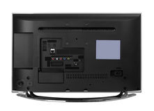 Led or lcd internet tv monitor Stock Image