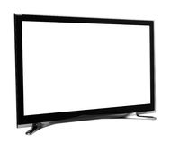 Led or lcd internet tv monitor stock photos