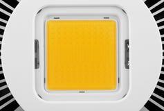 LED-Licht mit Heizkörper Lizenzfreies Stockfoto