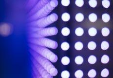 LED-Licht Technologie-Zusammenfassungshintergrund Lizenzfreies Stockbild