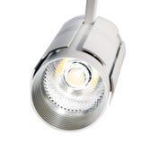 LED-Lichter, Lampe der Bahn LED Bürobeleuchtung Weiße Lampe auf einem whi Lizenzfreies Stockfoto