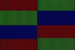 LED-Lichter vom Computerbildschirmanzeigefeld lizenzfreie stockfotos