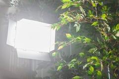 LED-lichttechnische Ausrüstung für Foto und Video Lizenzfreies Stockbild